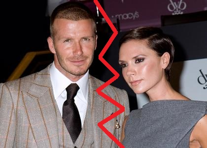 """David Beckham and Victoria Beckham Launch """"Beckham Signature"""" Fragrance Collection at Macy's in New York on September 26, 2008"""